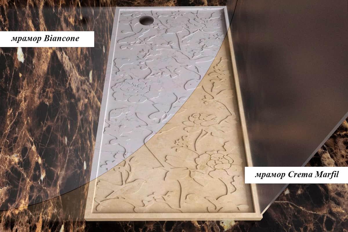Как купить лучшие душевые поддоны из камня для душевых кабин, фото 1