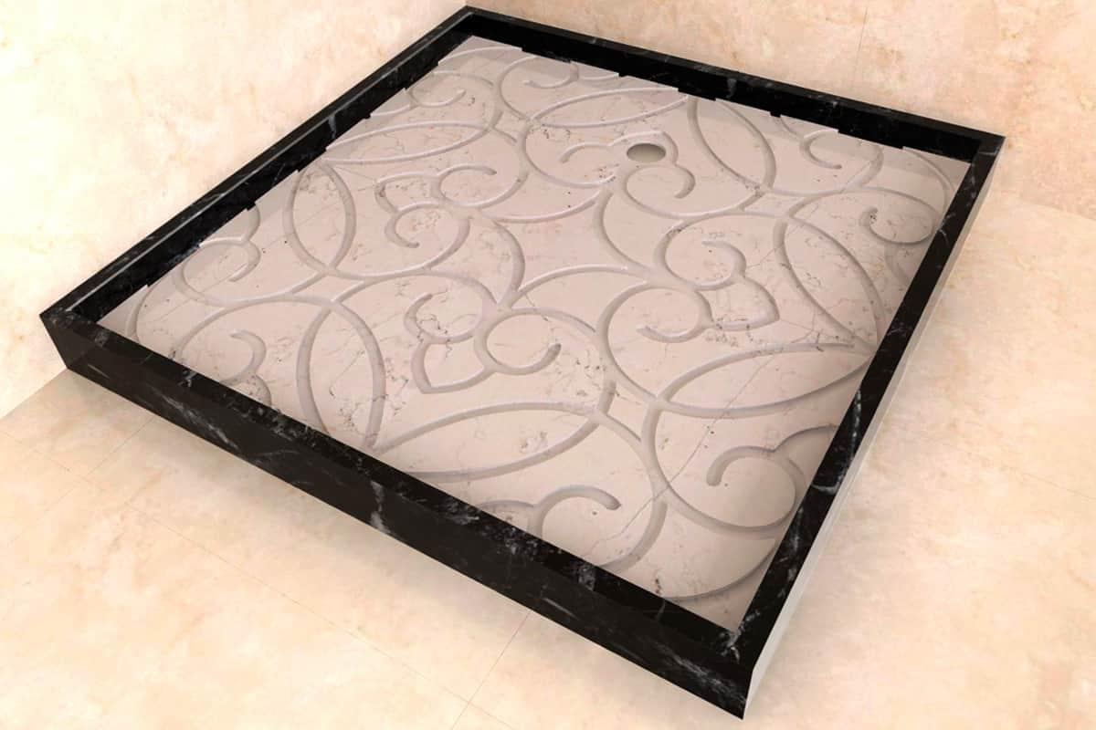 Как купить лучшие душевые поддоны из камня для душевых кабин, фото 11