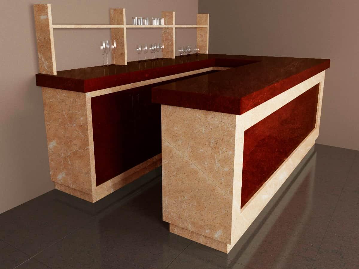 Гранит мрамор или кварц как выбрать материал для столешницы. изображение, фото 2