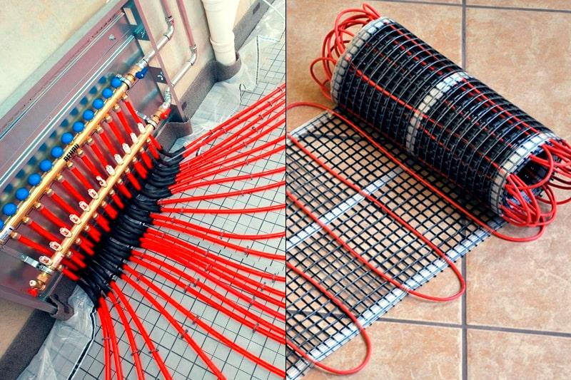 Правильный теплный и холодный пол водяной электрический из камня, статья, фото 1
