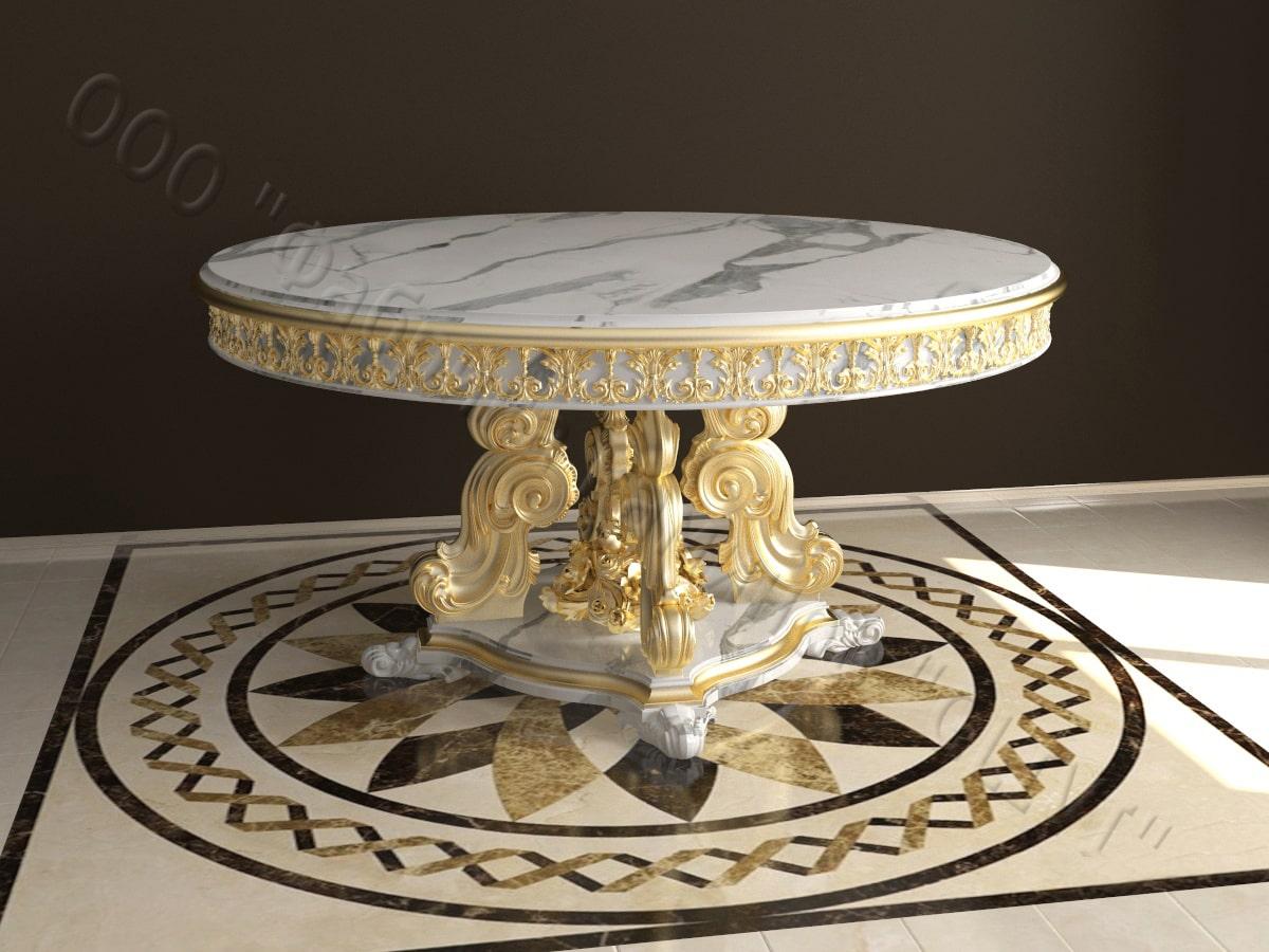 купить стол из мрамора