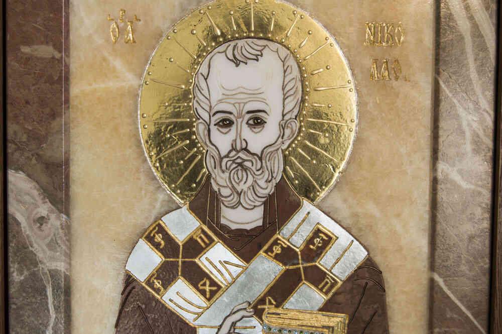 Икона Николая Чудотворца №08 от Гливи